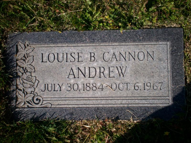 Louise Blanche <i>Cannon</i> Andrew