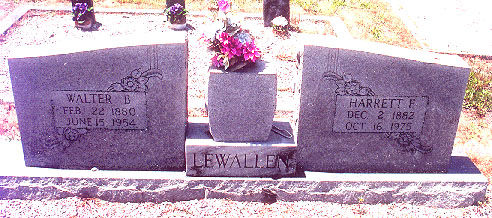 Harriet F <i>Farmer</i> Lewallen