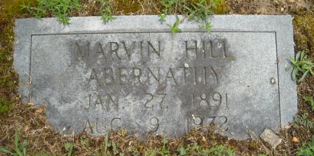 Marvin Hill Abernathy