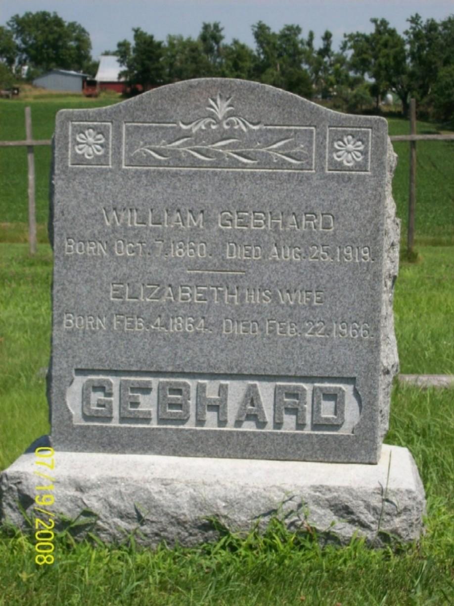 William Gebhard