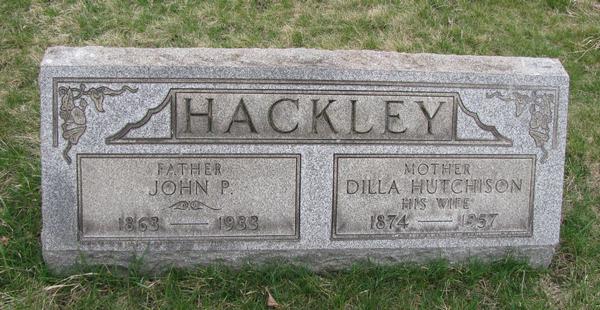 Dilla <i>Hutchison</i> Hackley