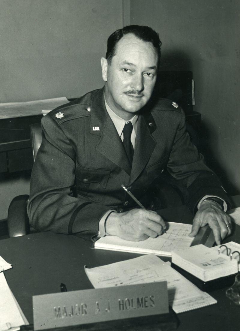MAJ Aubrey J. Holmes