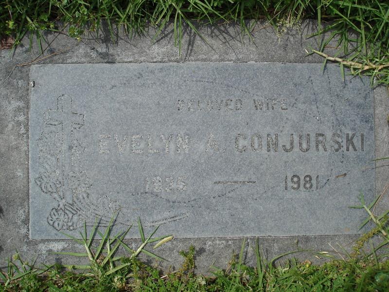 Evelyn Amelia Jane <i>Eberhard</i> Conjurski