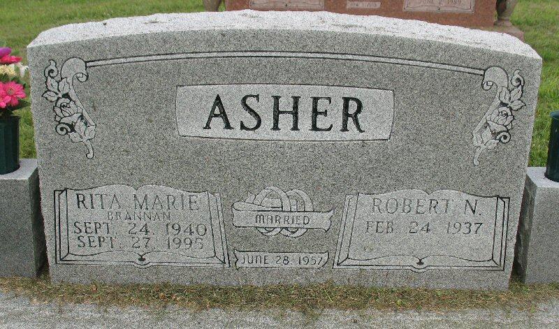 Rita Marie <i>Brannan</i> Asher