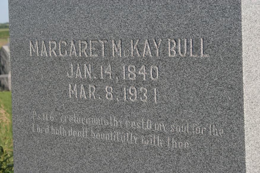 Margaret <i>McKay</i> Bull