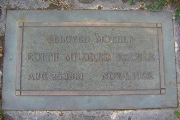 Edith <i>Carter</i> Eschle