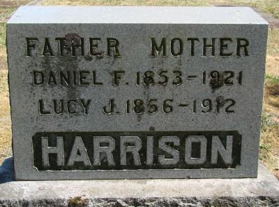 Lucy Jane <i>Bellamy</i> Harrison