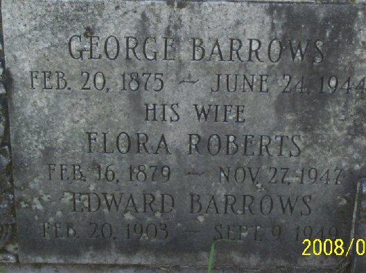 Flora <i>Roberts</i> Barrows