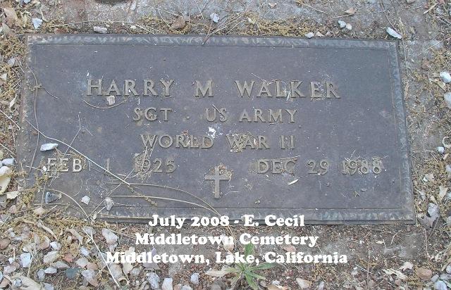 Harry McConnell Walker
