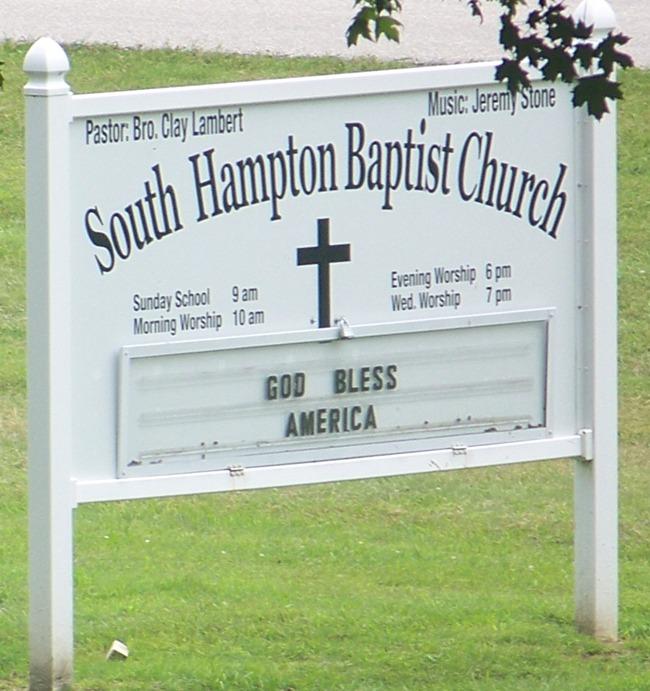 South Hampton Church Cemetery