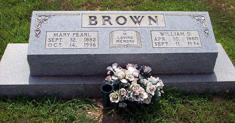 Mary Pearl <i>White</i> Brown
