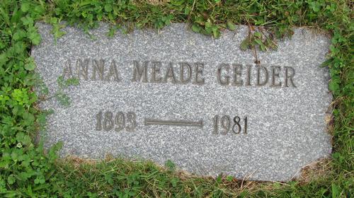 Anna <i>Meade</i> Geider