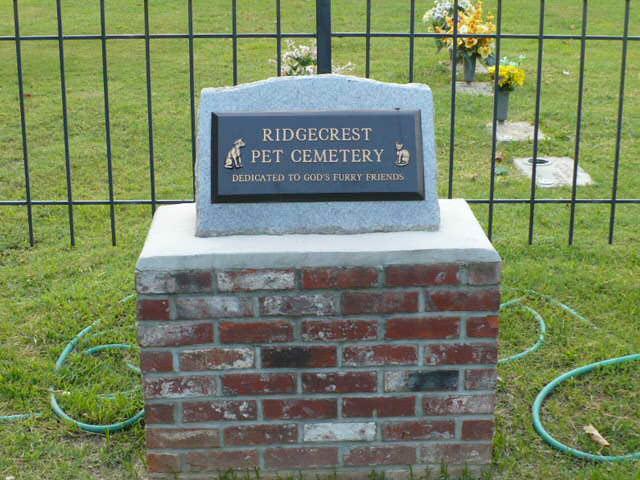Ridgecrest Pet Cemetery