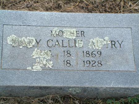 Mary Callie <i>Ragan</i> Autry