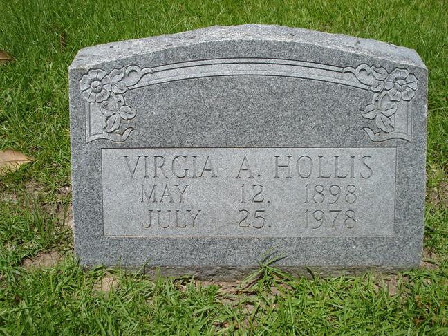 Virgia Althea <i>Huff</i> Hollis