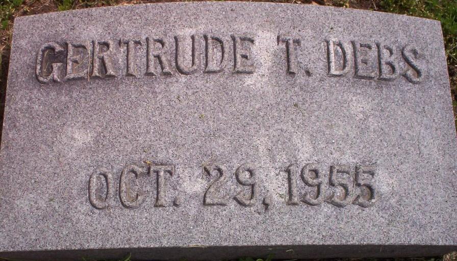 Gertrude T <i>Toy</i> Debs