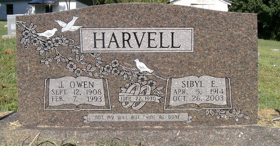 Sibyl Emily <i>Walker</i> Harvell