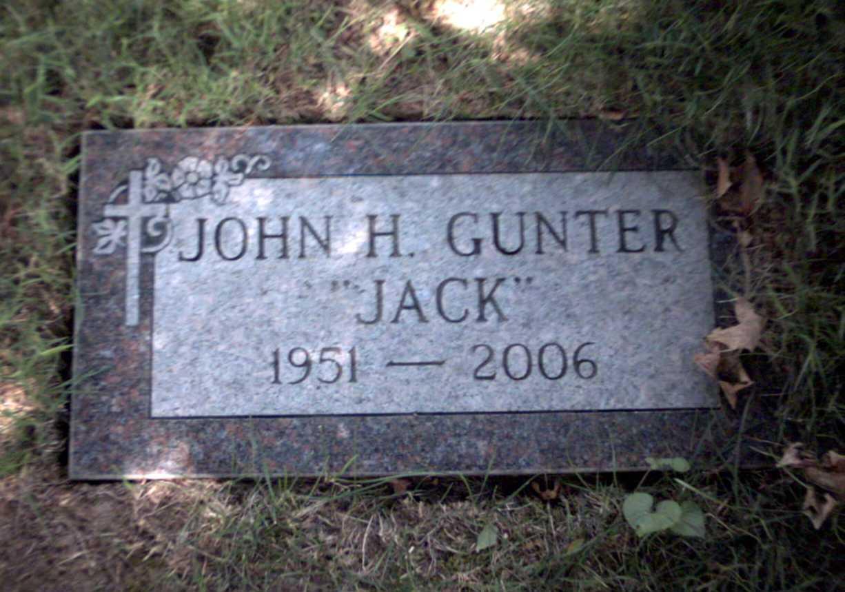 John H Jack Gunter