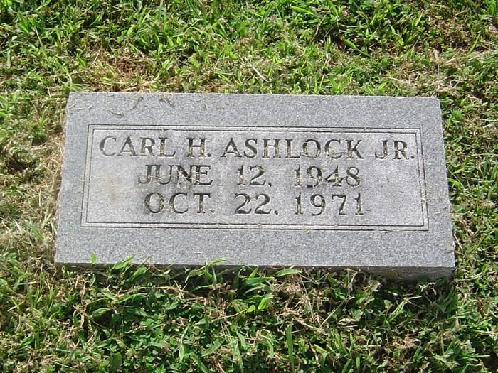 Carl Hunt Ashlock, Jr