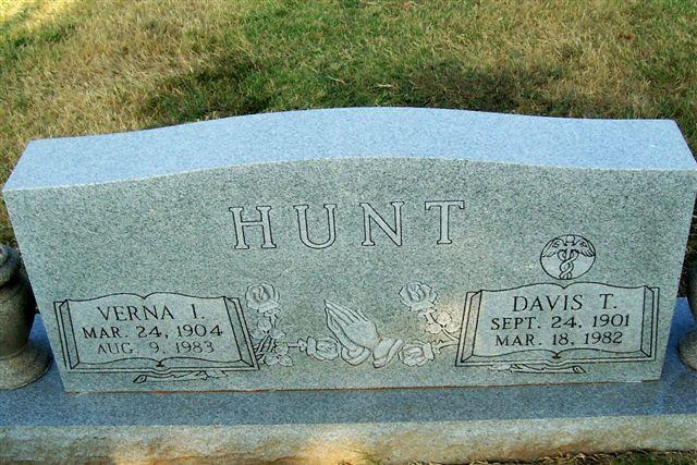 Dr Davis T. Hunt