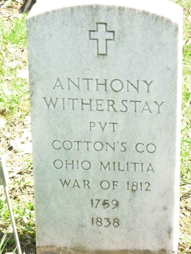 Pvt Anthony Witherstay