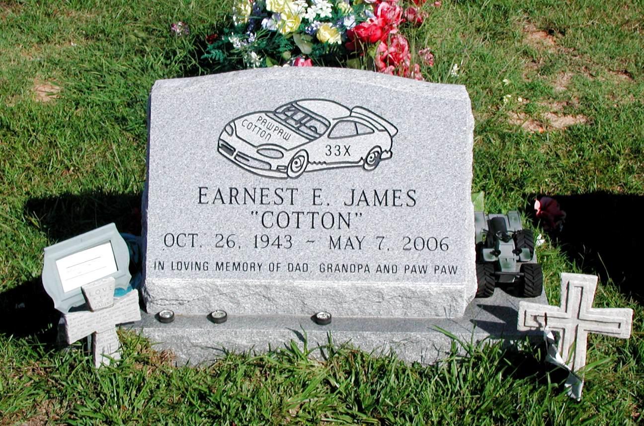 Ernest Elmer Cotton James