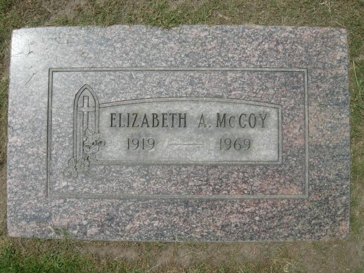 Elizabeth A. <i>Cashman</i> McCoy