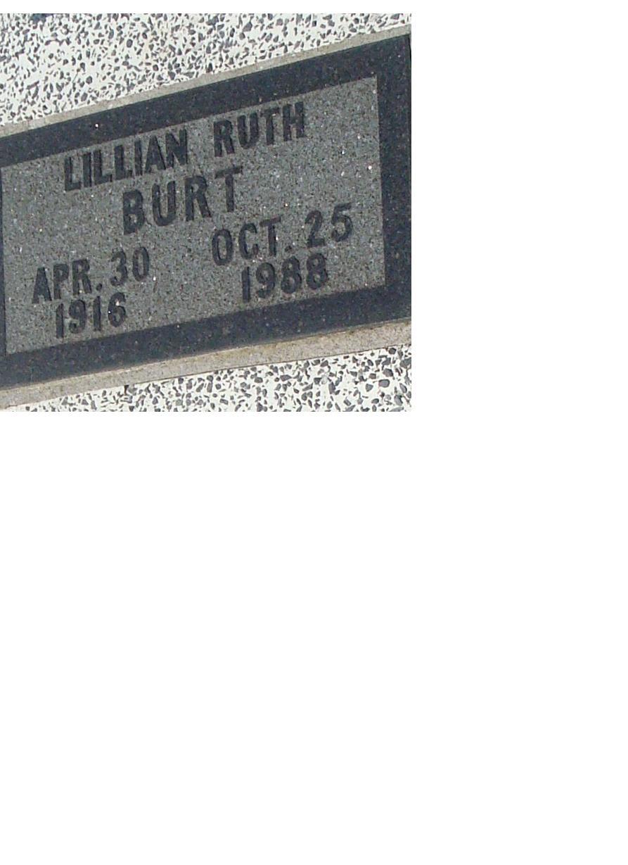 Lillian Ruth <i>Ferris</i> Burt