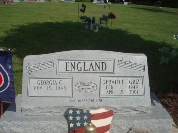 "Gerald E  ""Griz"" England (1949-2001) - Find A Grave Memorial"