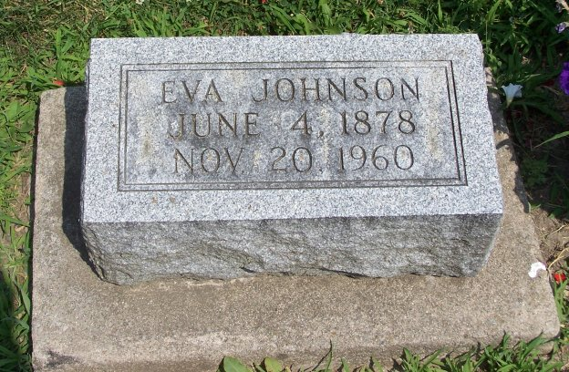 Eva <i>Erickson</i> Johnson