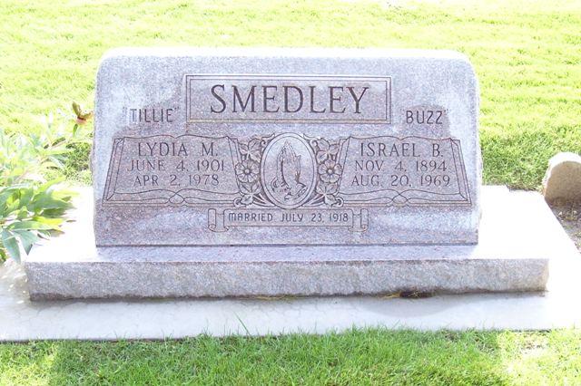 Israel Barlow Buzz Smedley