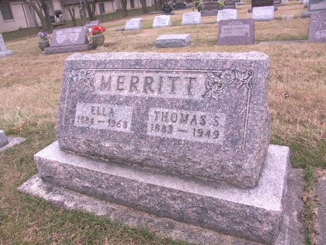 Ella <i>Jones</i> Merritt