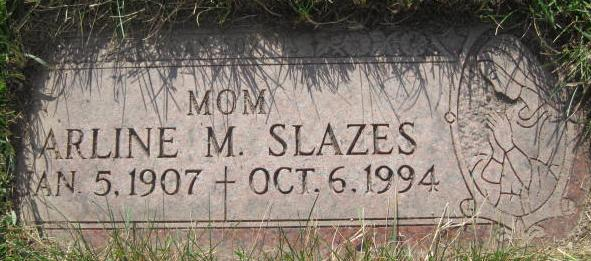 Mary Arline Arline <i>Sheehan</i> Slazes