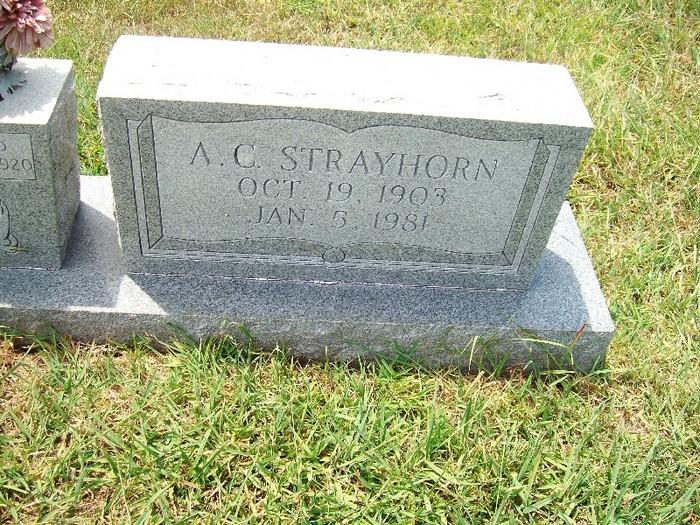 A. C. Strayhorn