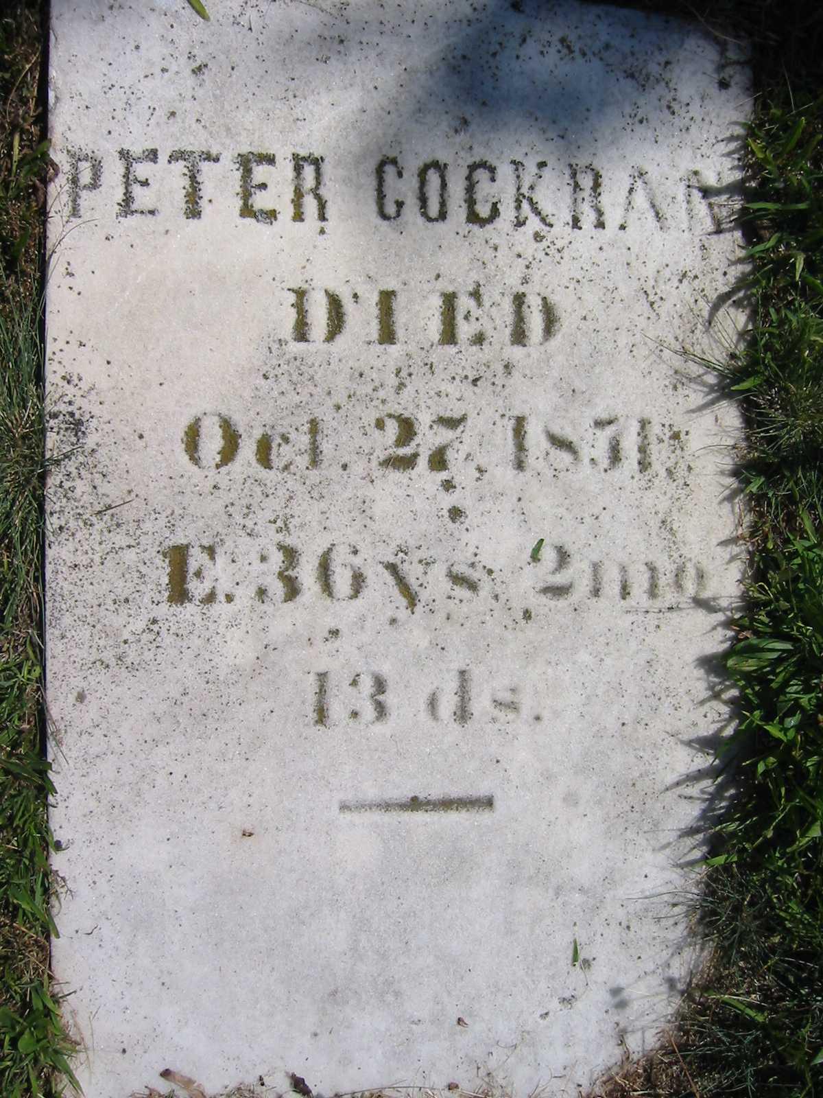 Peter Cockran