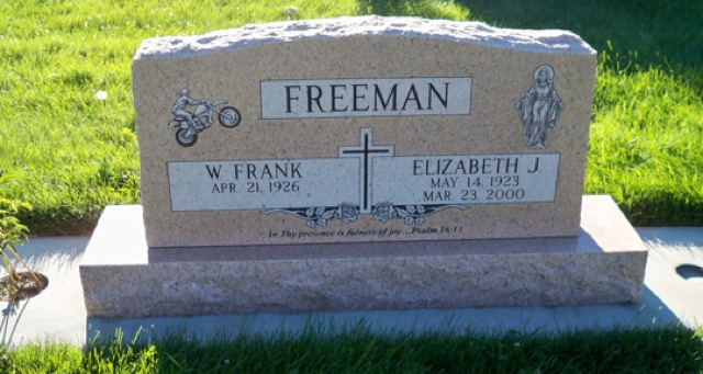 Elizabeth Josephine <i>Ourada</i> Freeman