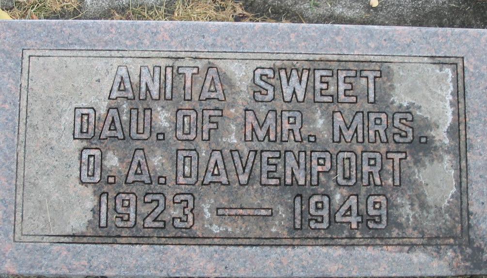 Anita Madeline <i>Davenport</i> Sweet