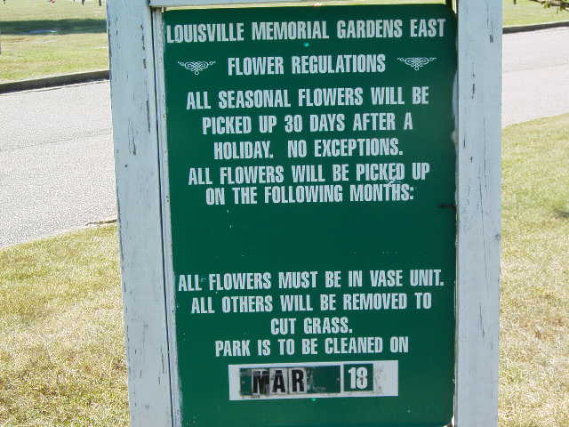 Louisville Memorial Gardens East in Louisville, Kentucky - Find A ...