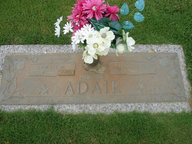 Flossie Adell <i>Maltby</i> Adair