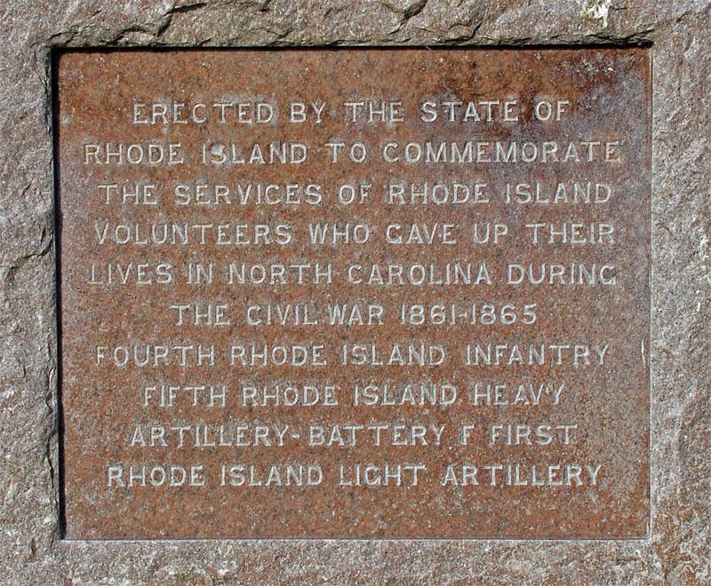 Rhode Island Civil War Monument