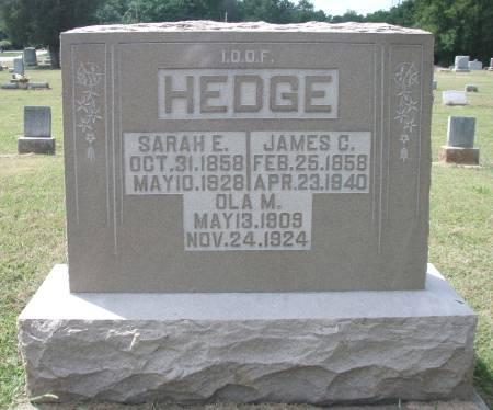Sarah E. <i>Gill</i> Hedge