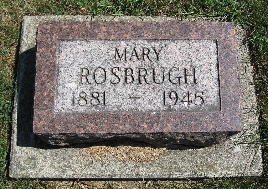 Mary Winifred <i>Yarian</i> Rosbrugh