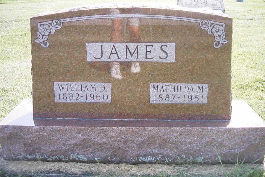 Mathilda James
