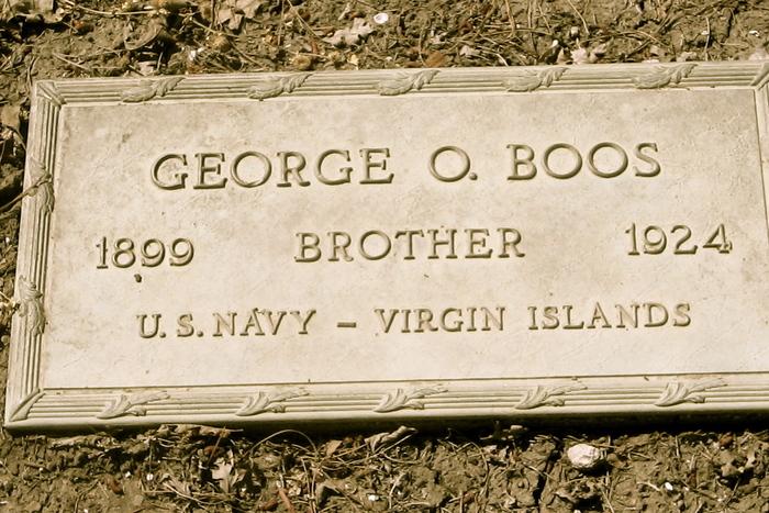 Pvt George o Boos
