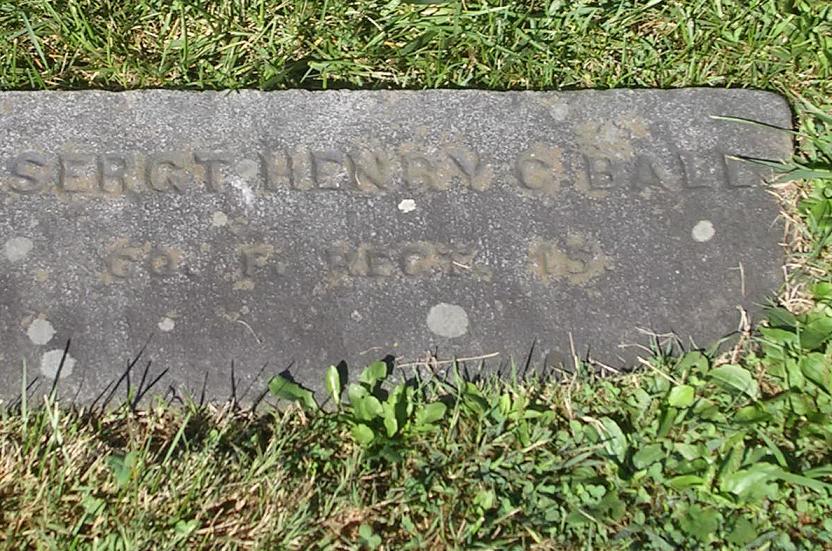 1SGT Henry C. Ball