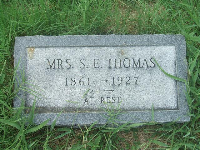 Susan Elizabeth <i>Harding</i> Thomas