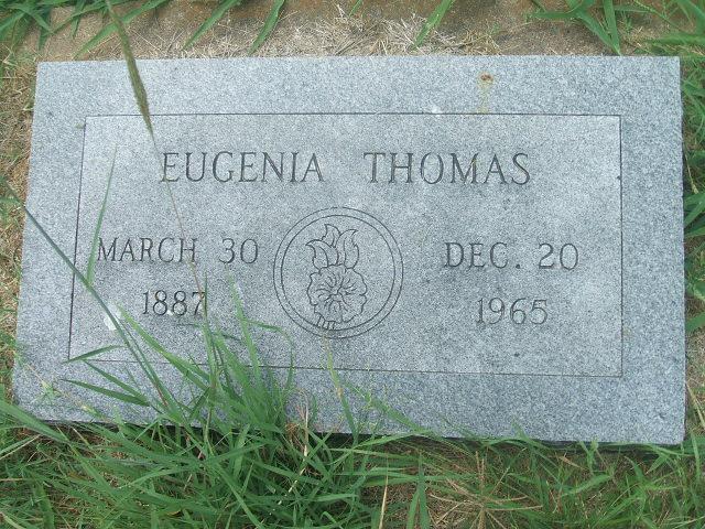 Bessie Eugenia <i>Cook</i> Thomas