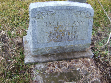 Rachel Ann <i>Page</i> Leggett