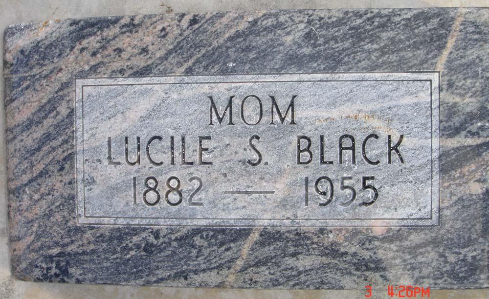 Sarah Lucile <i>Snow</i> Black