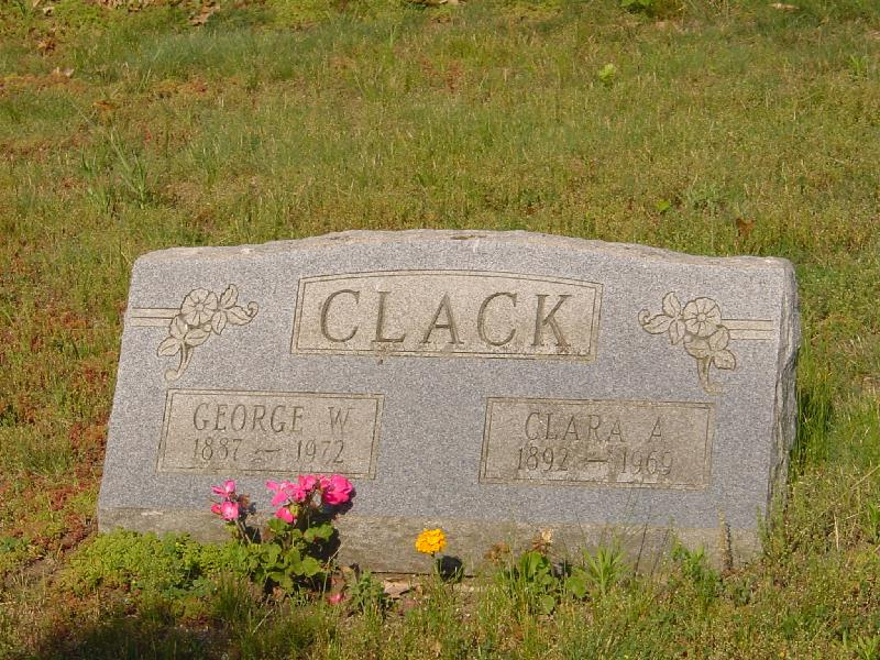 Clara Ann <i>Clark</i> Clack